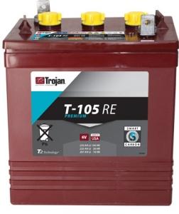 TROJAN T105 RE 6V 225A (264х181х299)