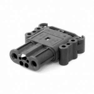 DIN80A 150B PLUG Коннектор серый 25 кв.мм без ручки и пилот-контактов